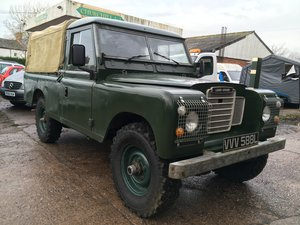 1972 Land Rover early Series 3 Only 44,346 miles