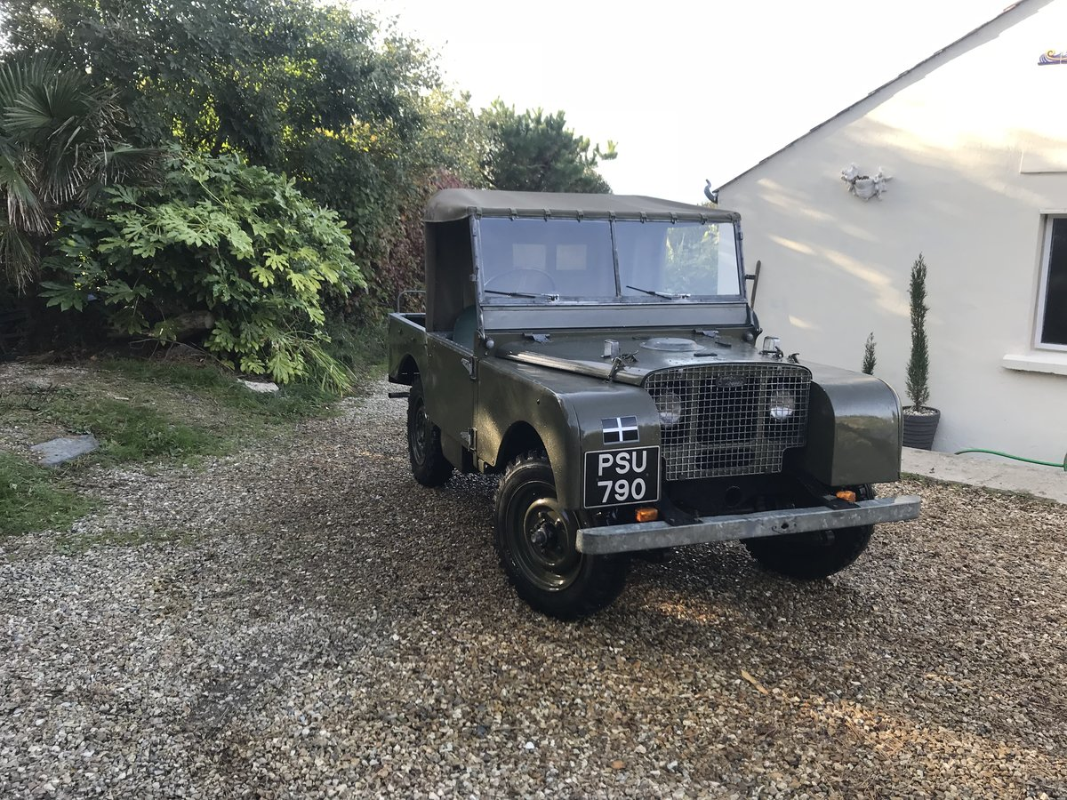 """1949 Land Rover series 1 80""""  For Sale (picture 1 of 3)"""