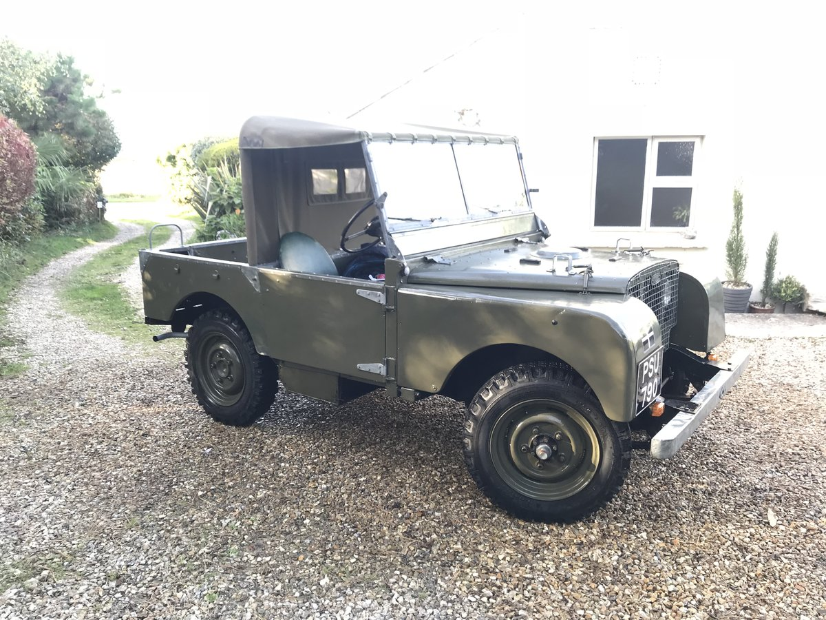 """1949 Land Rover series 1 80""""  For Sale (picture 2 of 3)"""