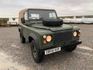 1986 Land Rover® 90 *Soft-Top and Power Steering* (VUY) For Sale