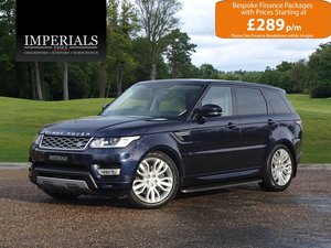 Land Rover  RANGE ROVER SPORT  3.0 SDV6 HSE 2017 MODEL EU6 8 For Sale