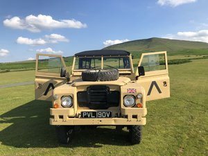 1979 Land Rover 109, Series III, LOW MILEAGE