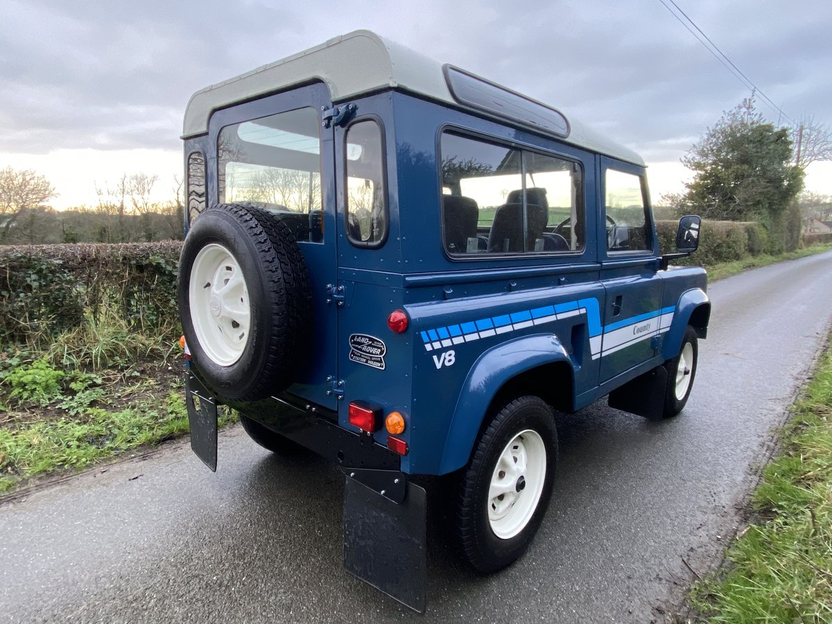 1985 Land Rover 90 Factory V8 For Sale (picture 2 of 6)