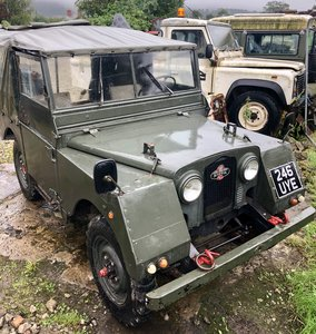 1952 Land Rover series 1 minerva Very early model