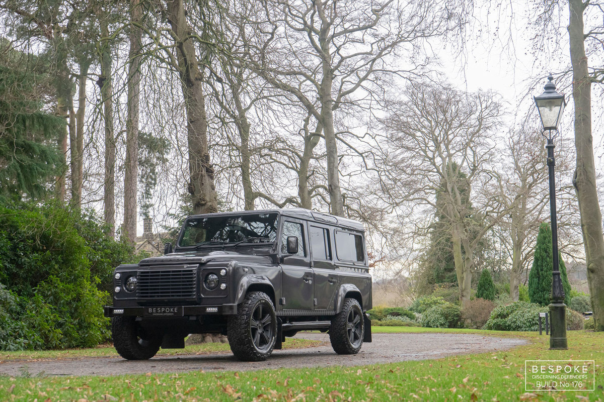 2013 Bespoke Land Rover Defender 110 LS3  V8 Auto Station Wagon For Sale (picture 1 of 6)