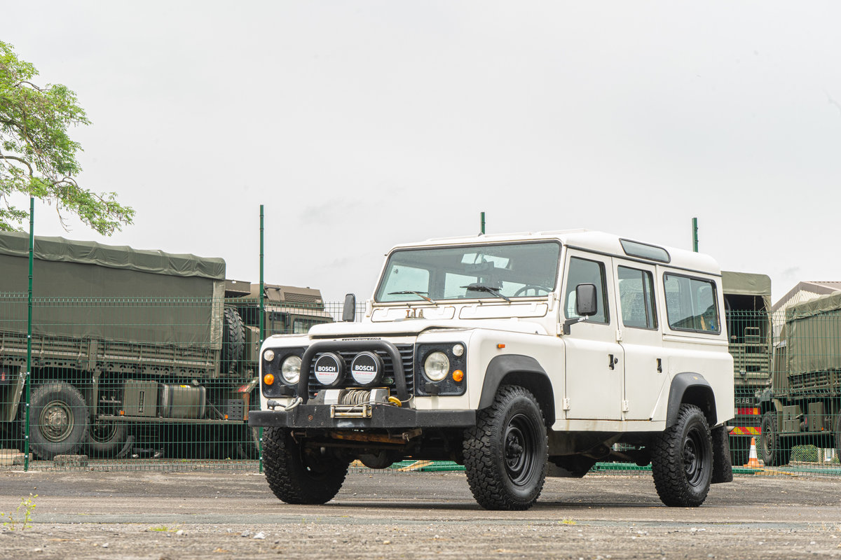 1986 Land Rover Defender 110 3.5 V8 LEFT HAND DRIVE For Sale (picture 1 of 6)