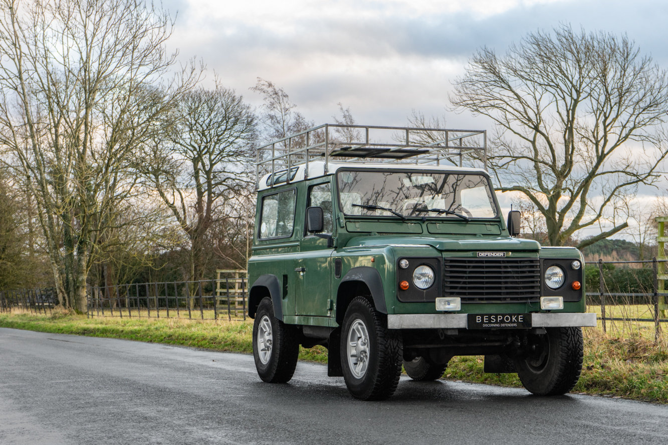 1998 Land Rover Defender 90 Station Wagon LEFT HAND DRIVE For Sale (picture 1 of 6)