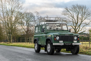 1998 Land Rover Defender 90 Station Wagon LEFT HAND DRIVE For Sale