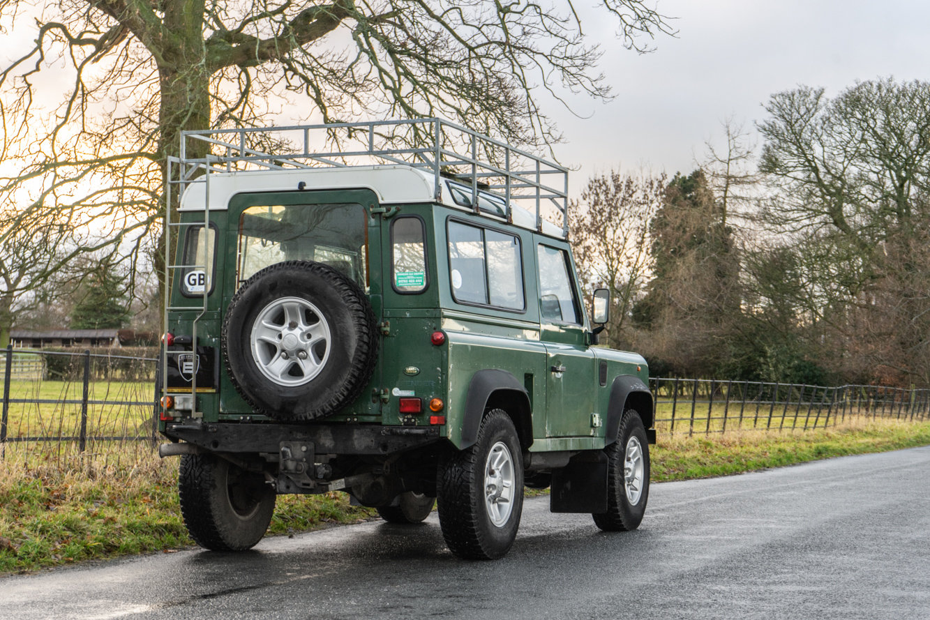 1998 Land Rover Defender 90 Station Wagon LEFT HAND DRIVE For Sale (picture 3 of 6)