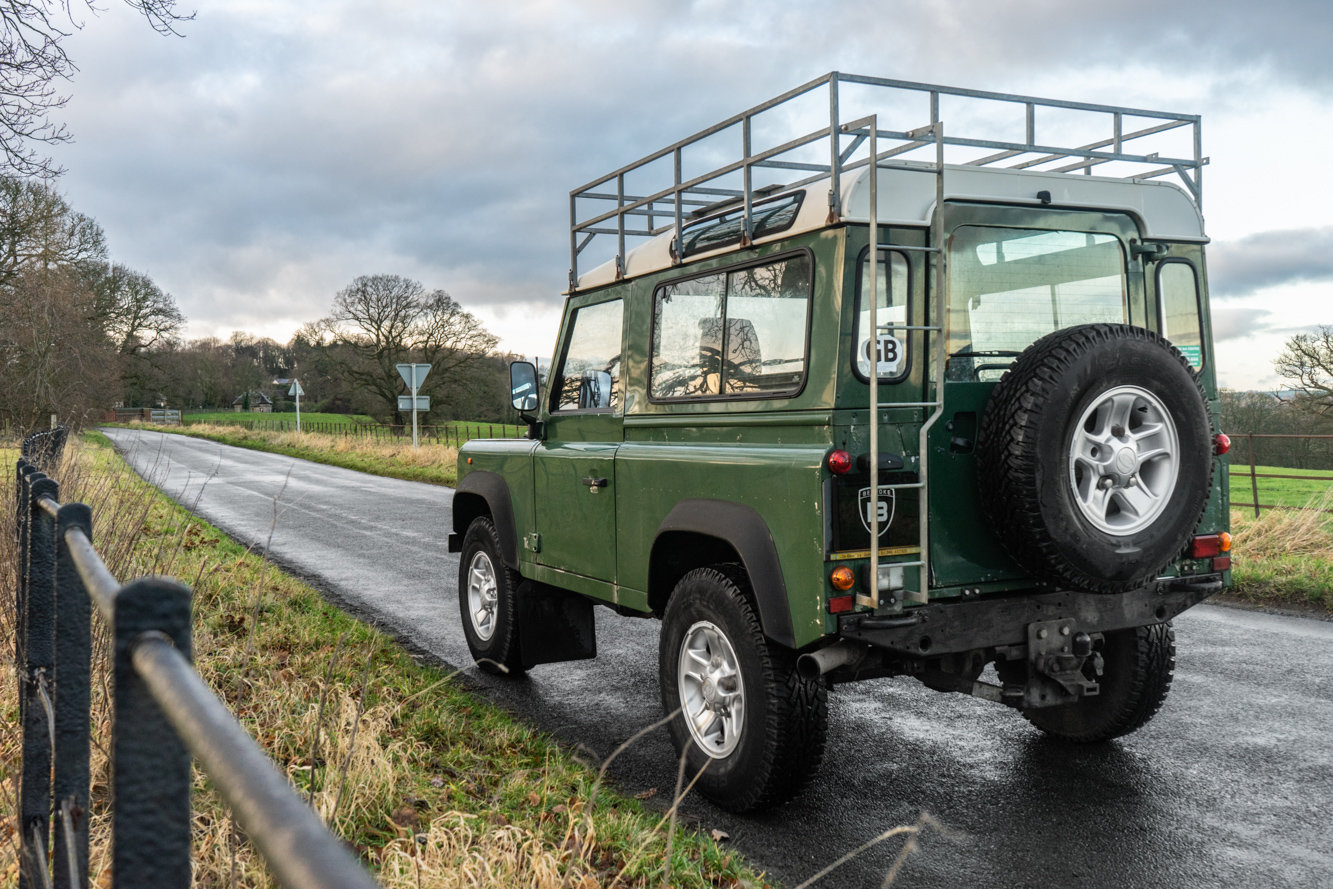 1998 Land Rover Defender 90 Station Wagon LEFT HAND DRIVE For Sale (picture 4 of 6)