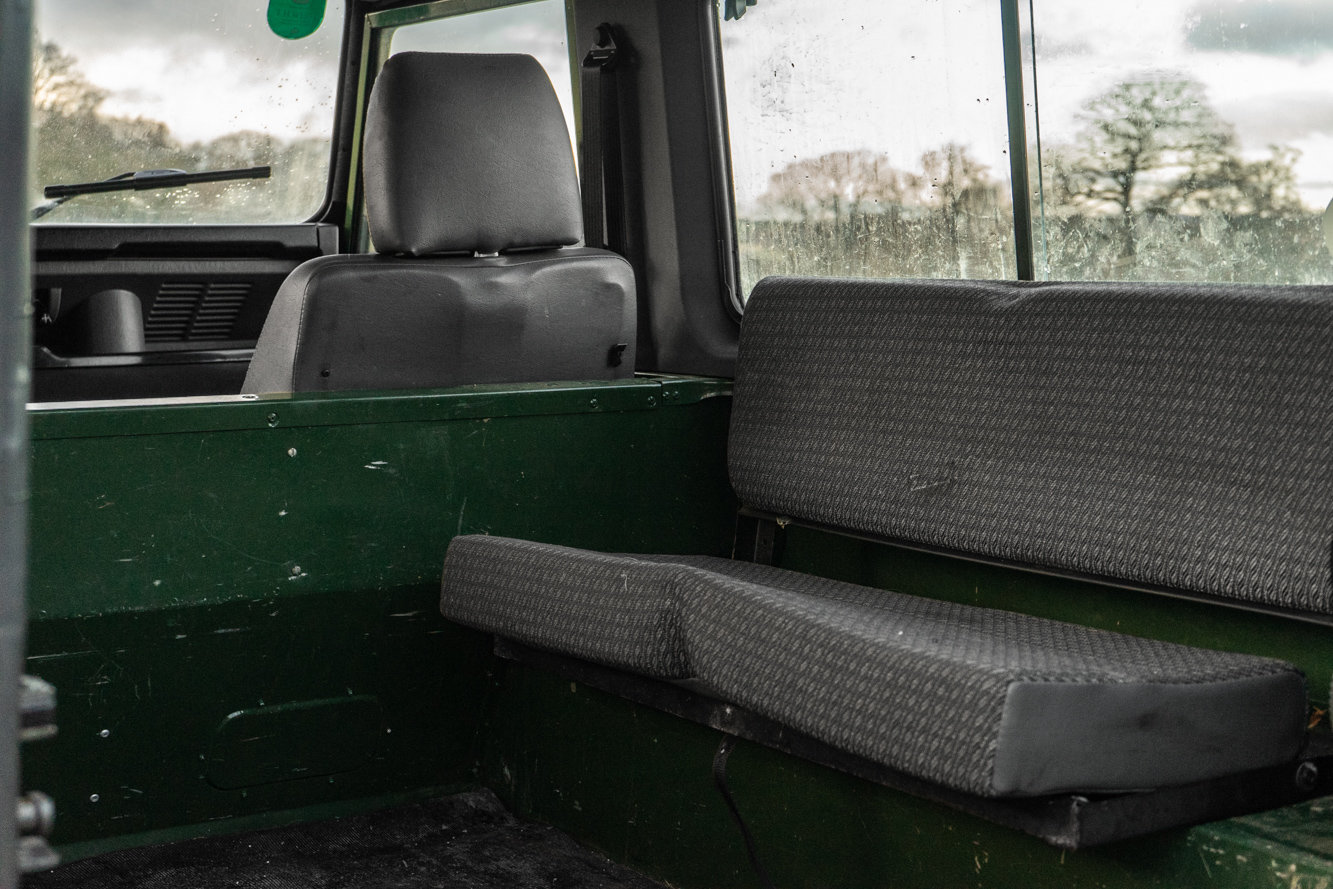1998 Land Rover Defender 90 Station Wagon LEFT HAND DRIVE For Sale (picture 6 of 6)