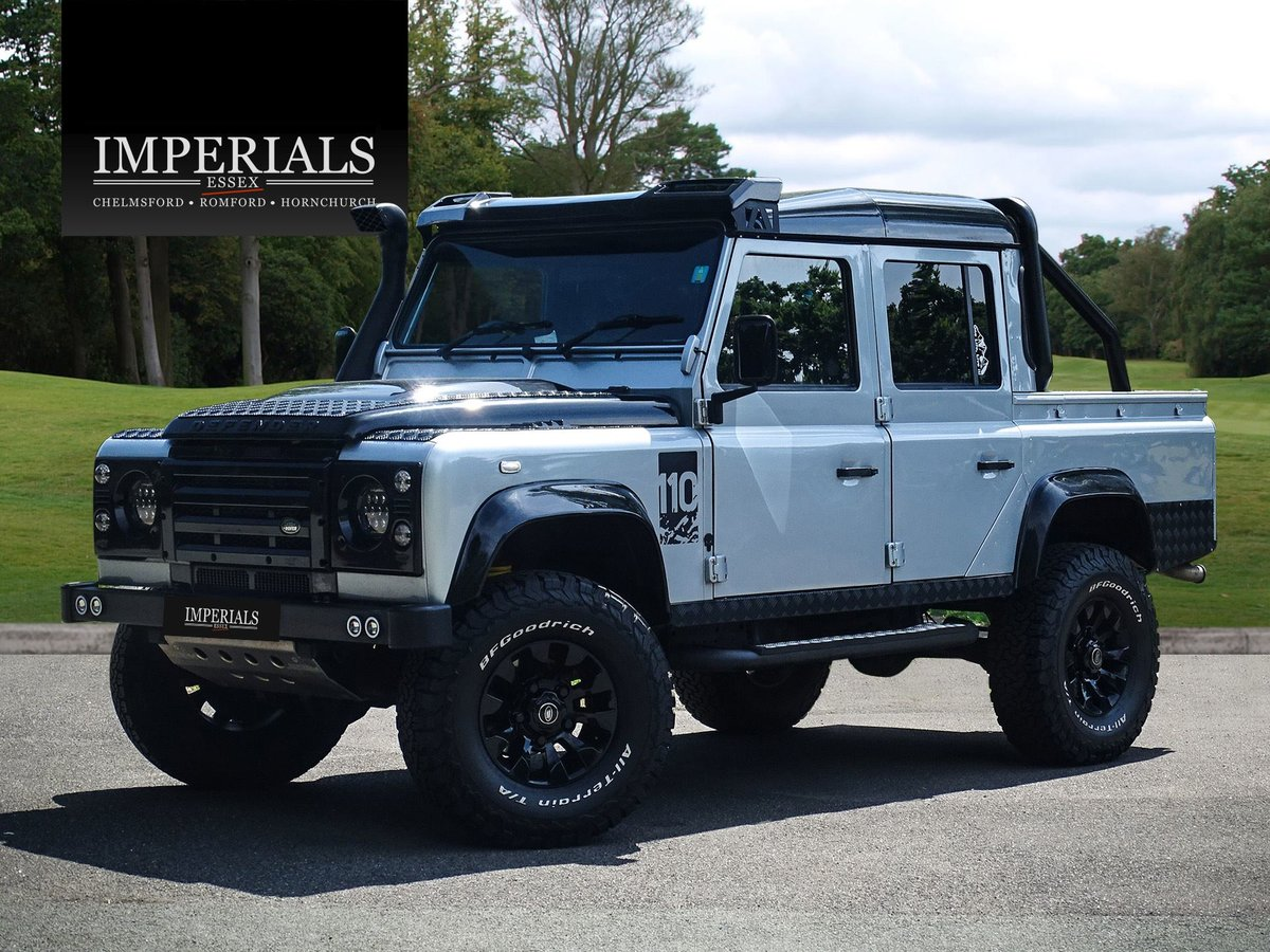 2010 Land Rover  DEFENDER 110  2.4 TDI COUNTY DOUBLE CAB PICK UP  For Sale (picture 1 of 24)