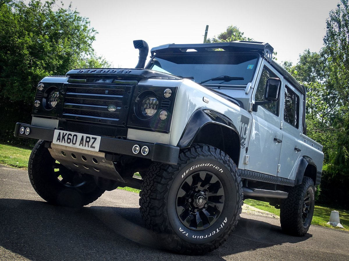2010 Land Rover  DEFENDER 110  2.4 TDI COUNTY DOUBLE CAB PICK UP  For Sale (picture 21 of 24)