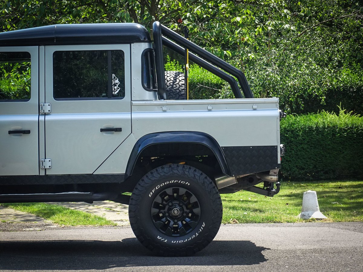 2010 Land Rover  DEFENDER 110  2.4 TDI COUNTY DOUBLE CAB PICK UP  For Sale (picture 24 of 24)