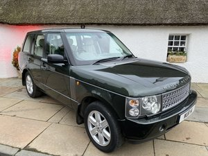 2005 Range Rover Vogue stunning low mileage fsh For Sale