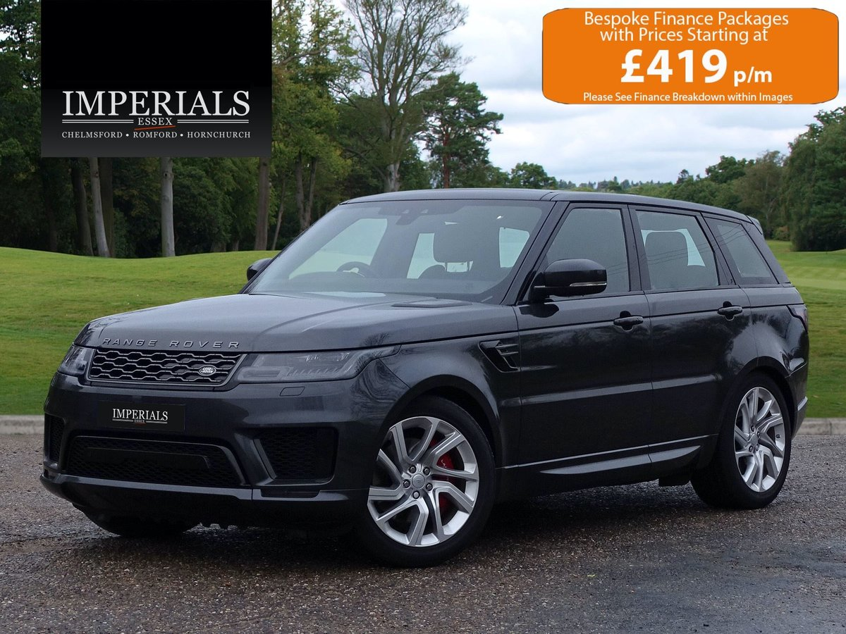 2018 Land Rover  RANGE ROVER SPORT  P400e HYBRID HSE DYNAMIC AUTO For Sale (picture 1 of 18)