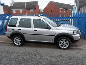 2006 AUTOMATIC FREELANDER V/6 PETROL WITH A TOW BAR F.S.H MOTED  For Sale