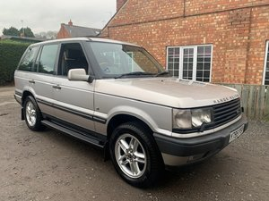 2001 Range Rover P38 4.6 Vogue SOLD by Auction