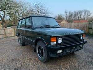 1992 Range Rover 200 TDi SOLD by Auction