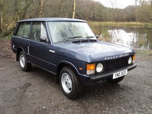 Range Rover Classic Superb 2 Door