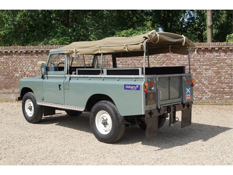 1981 Land Rover 109 PICK-UP LHD Diesel For Sale (picture 2 of 6)
