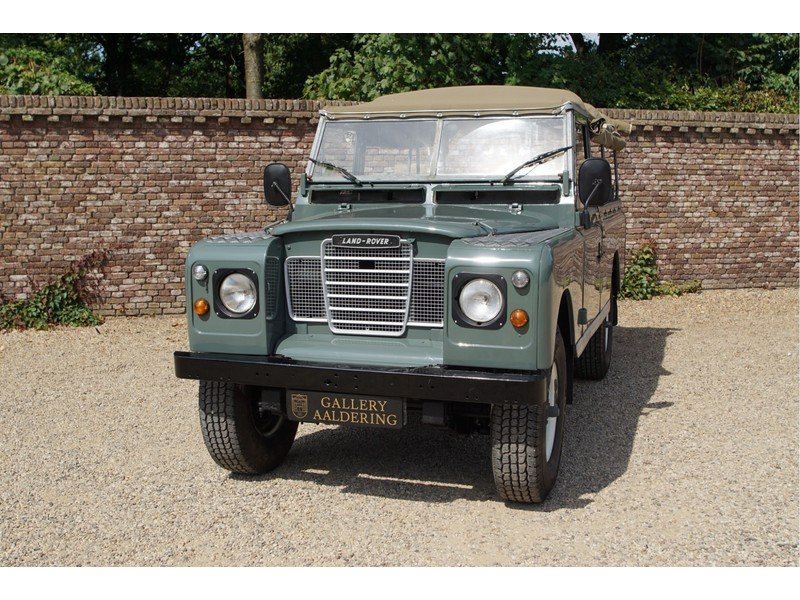 1981 Land Rover 109 PICK-UP LHD Diesel For Sale (picture 5 of 6)