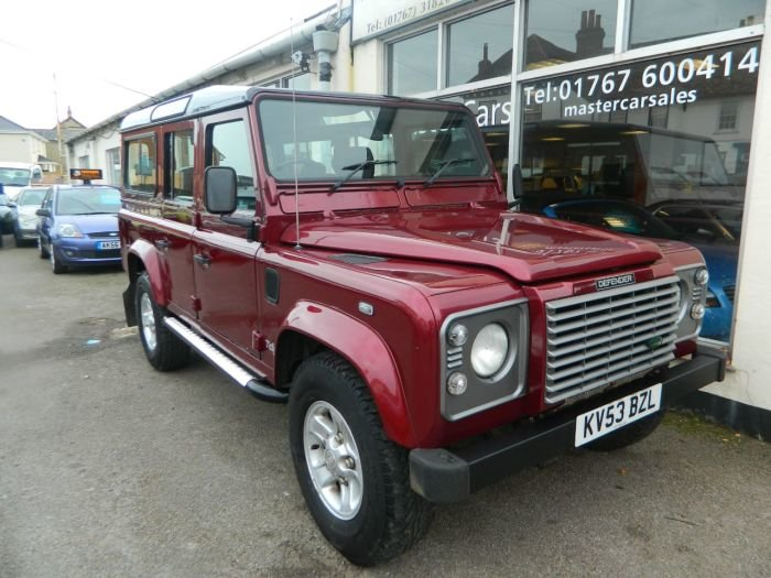 2004 2003/53 LANDROVER DEFENDER TD5 LWB 2.5D 9 SEATER XS 118835ML For Sale (picture 1 of 6)