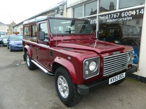 2004 2003/53 LANDROVER DEFENDER TD5 LWB 2.5D 9 SEATER XS 118835ML