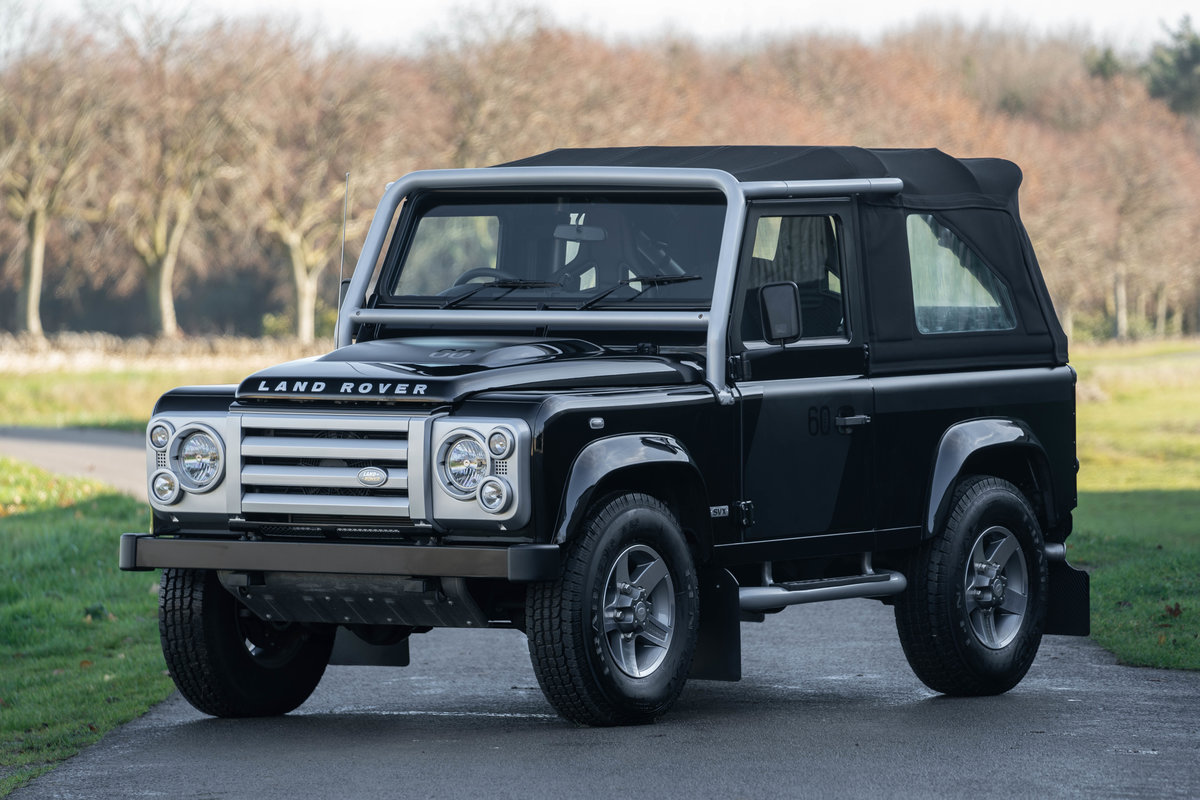 Land Rover Defender SVX Soft Top 2008 - 800 miles from new For Sale (picture 1 of 6)