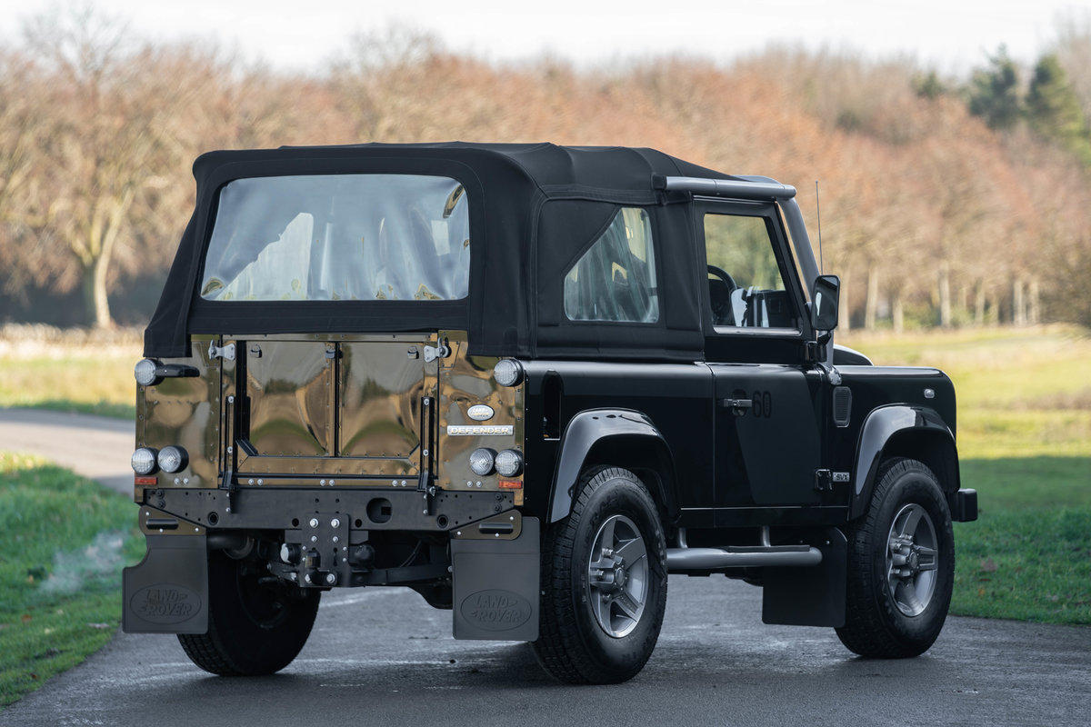 Land Rover Defender SVX Soft Top 2008 - 800 miles from new For Sale (picture 2 of 6)