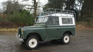 1965 Series 2a land rover - ex military - sound chassis