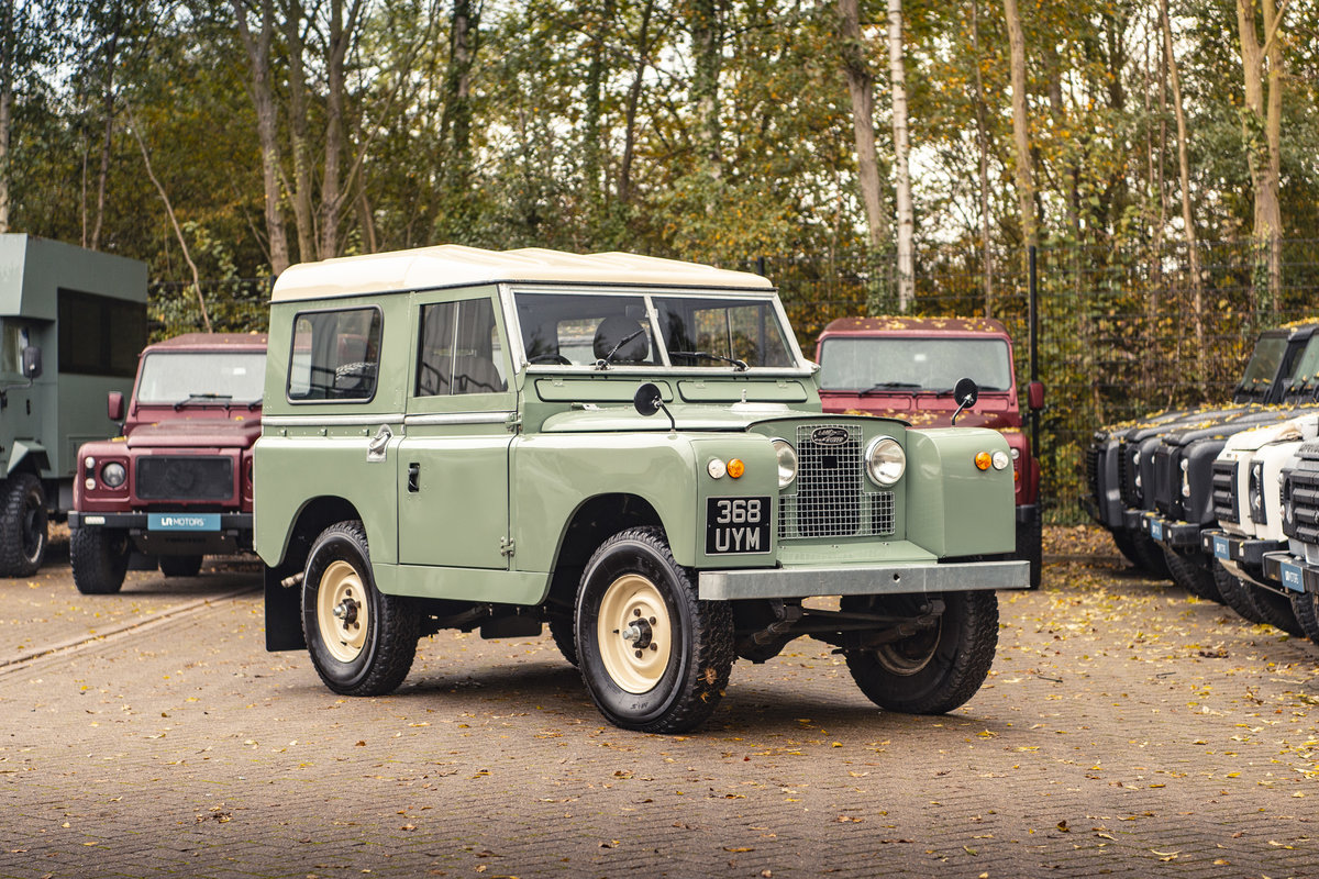 1959 LAND ROVER SERIES 2A 88 For Sale (picture 1 of 6)