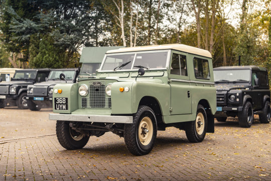 1959 LAND ROVER SERIES 2A 88 For Sale (picture 3 of 6)