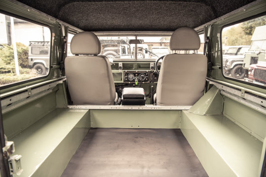 1959 LAND ROVER SERIES 2A 88 For Sale (picture 5 of 6)