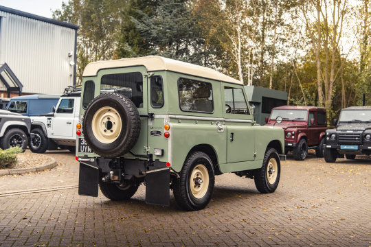 1959 LAND ROVER SERIES 2A 88 For Sale (picture 6 of 6)