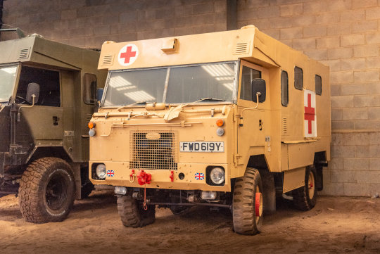 1983 LAND ROVER 101 FORWARD CONTROL AMBULANCE For Sale (picture 1 of 6)