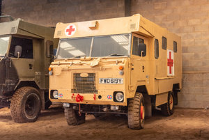 1983 LAND ROVER 101 FORWARD CONTROL AMBULANCE For Sale