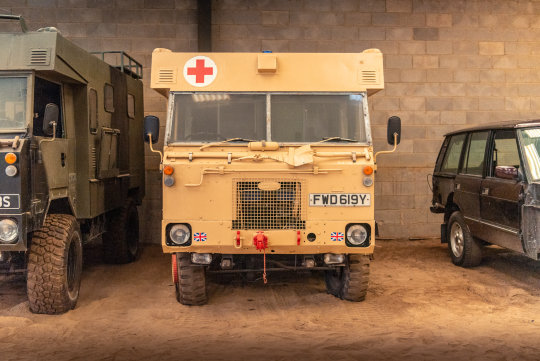 1983 LAND ROVER 101 FORWARD CONTROL AMBULANCE For Sale (picture 3 of 6)