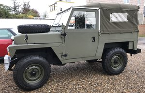 1974 Ex-MOD Land Rover Lightweight SOLD