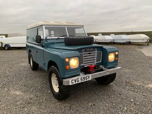 1982 Land Rover® Series 3 109 *Galvanised Chassis* (CVG) For Sale