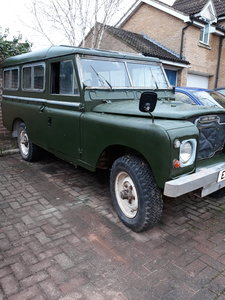 1971 Land Rover Series 2a 109 project