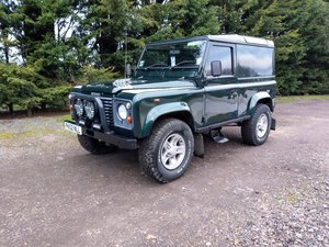 2002 Land Rover Defender Td5 with upgraded turbo