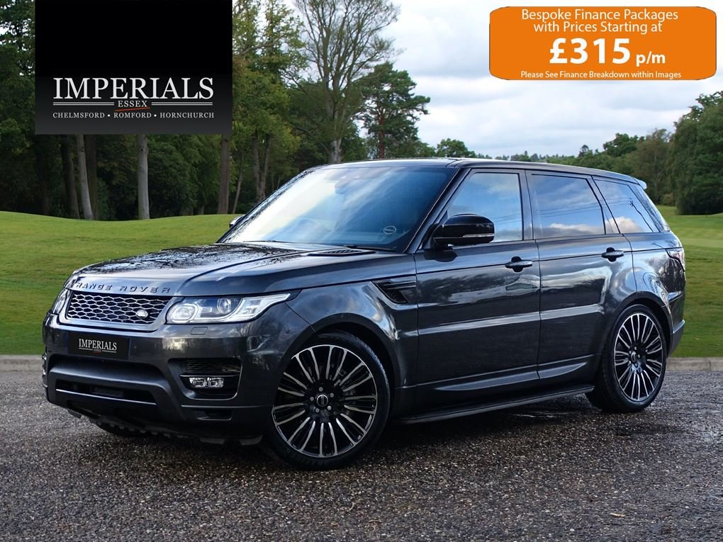 2017 Land Rover  RANGE ROVER SPORT  3.0 SDV6 HSE EU6 8 SPEED AUTO For Sale (picture 1 of 24)