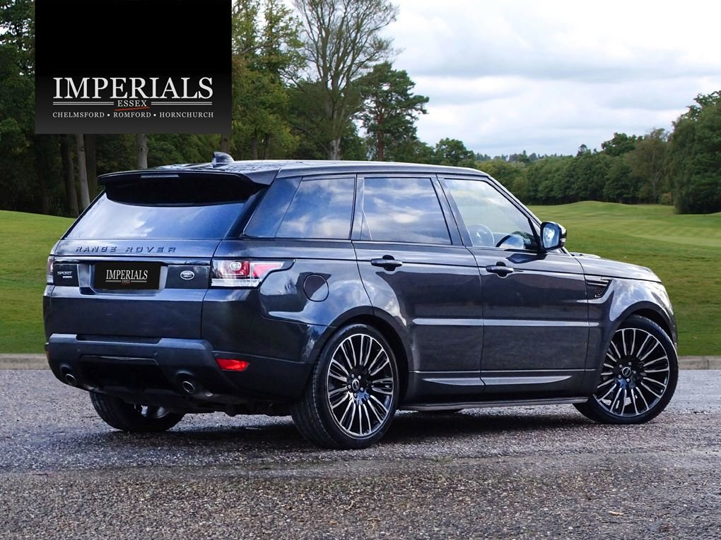 2017 Land Rover  RANGE ROVER SPORT  3.0 SDV6 HSE EU6 8 SPEED AUTO For Sale (picture 4 of 24)