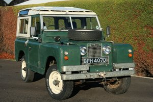 1966 Land Rover Series 2a 88 SOLD