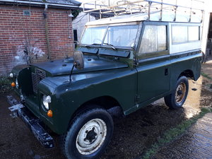 1971 LANDROVER SERIES 11a MALTESE CROSS