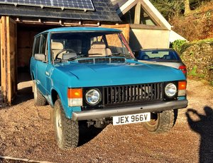 1979 RANGE ROVER CLASSIC TWO DOOR For Sale
