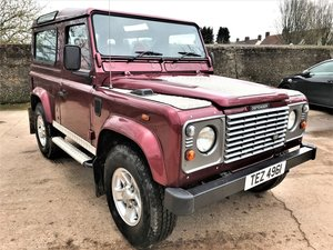 2002 02/02 Defender 90 TD5 county station wagon 6 seat+12M MOT