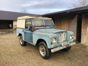 1981 Landrover Series 3 Project  For Sale