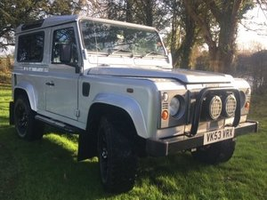 2003 Land Rover Defender 90 TD5 County at ACA 25th January